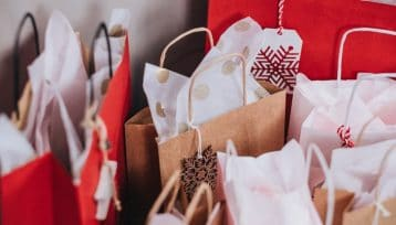 Buste regalo e acquisti vari